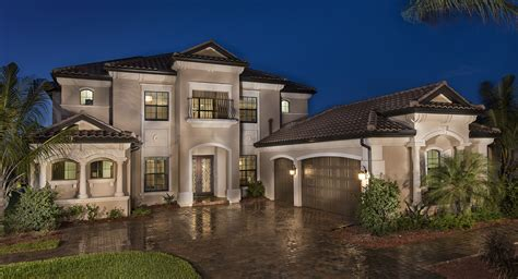 brand new classic homes now open at treviso bay in naples