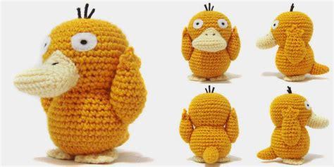 amigurumi pattern free pokemon i crochet things pattern psyduck amigurumi