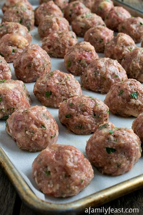 Handmade Meatballs - meatballs recipe dishmaps