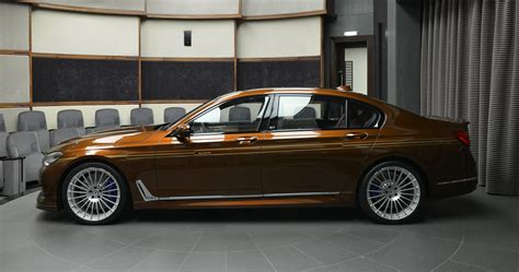 b7 bmw alpina b7 individual certainly looks different in chestnut