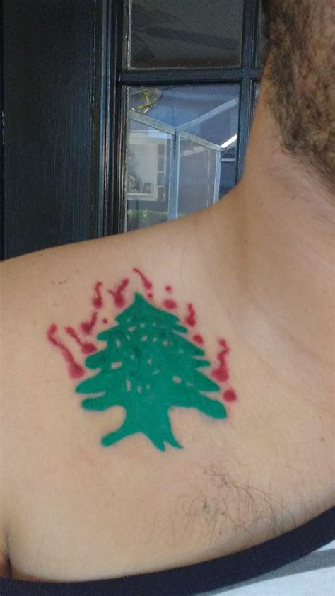 cedar tree tattoo lebanese cedar www pixshark images