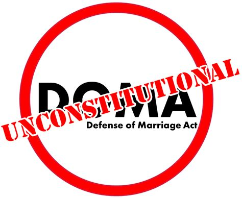 The defense of marriage act exposed aggregate