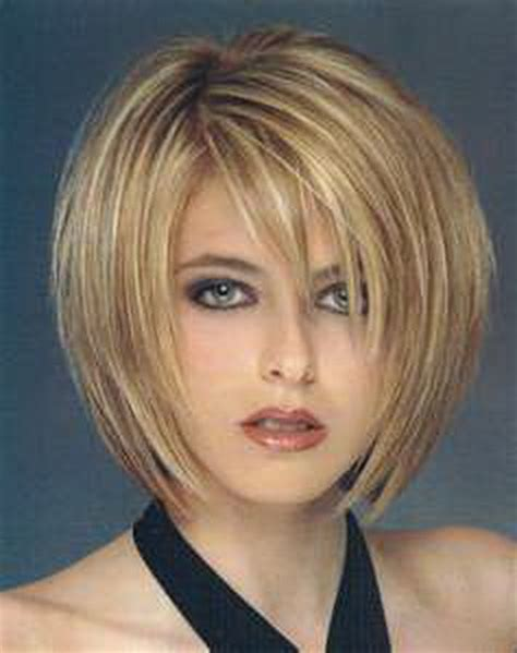haircuts for thin faces pictures short hairstyles for thin hair and round face