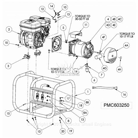 powermate formerly coleman pmc603250 parts diagram for