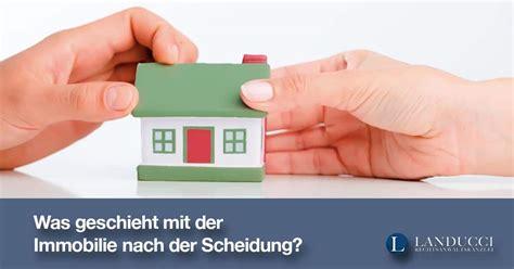 zugewinnausgleich haus was geschieht mit der immobilie haus wohnung nach der
