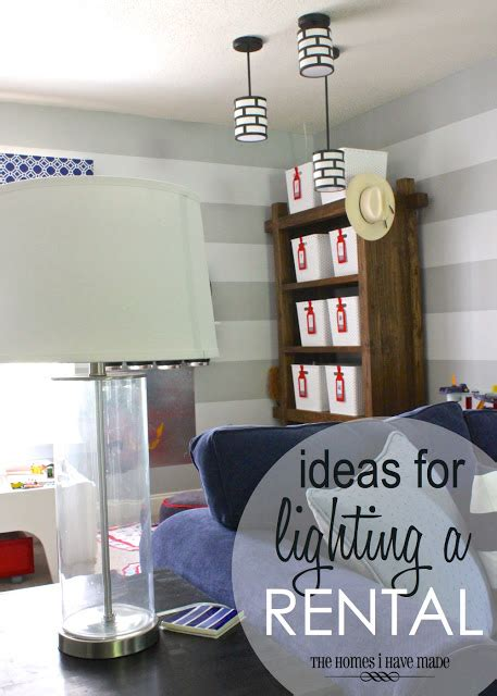 how to light a room with no overhead lighting ideas for lighting a rental the homes i made