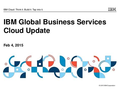 Ibm Global Business Services Mba by Ibm Global Business Services Cloud Update