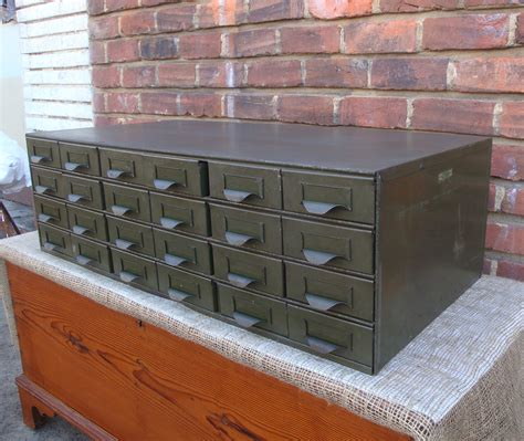 Metal Storage Drawers by 24 Drawer Metal Industrial Steel Storage File Cabinet