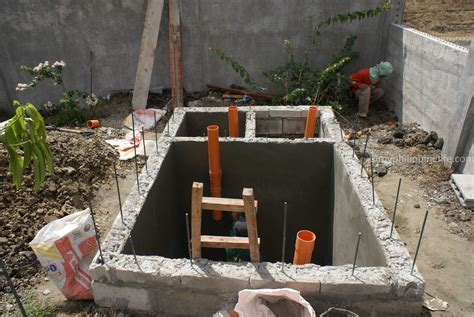 Exterior Landscaping by Our Philippine House Project Septic And Drainage Systems