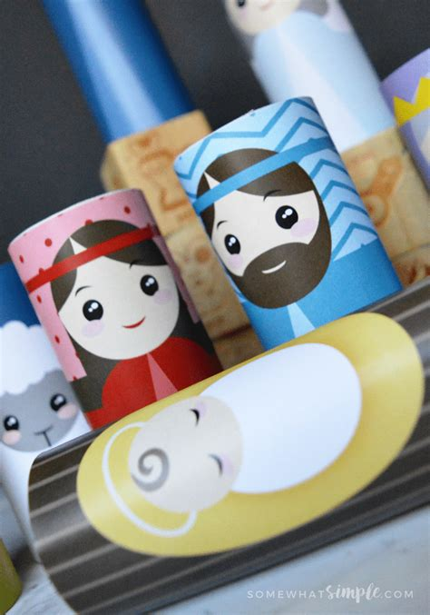 Printable Toilet Paper Roll Crafts