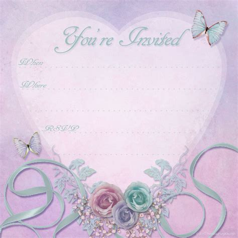 free valentine party invitations printable party kits