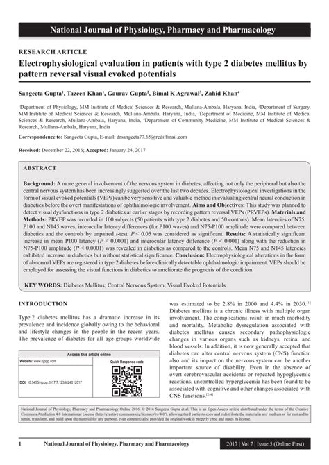 pattern reversal evoked potentials electrophysiological evaluation in pdf download available