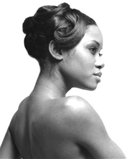 pin up african american hair african american wedding hairstyles hairdos pin curl