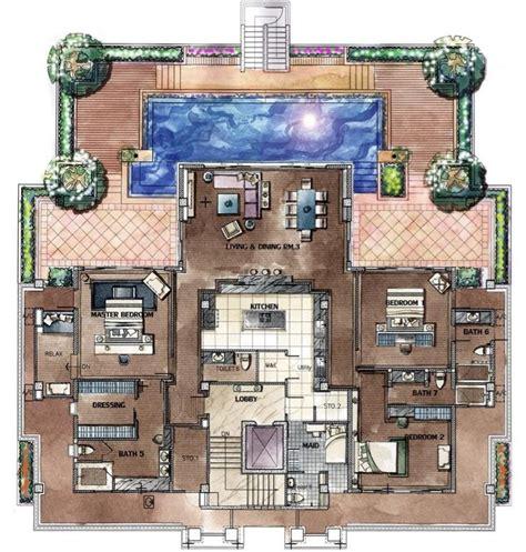 penthouse floor plans penthouse floor plan houses pinterest penthouses