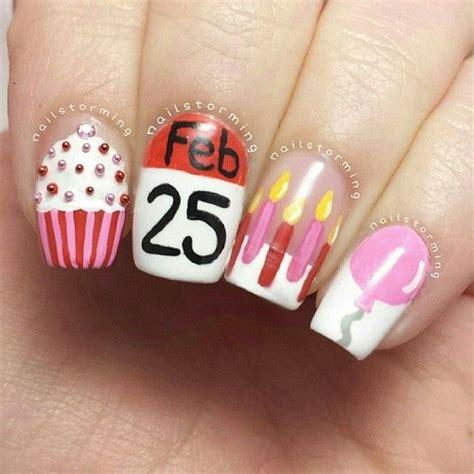 birthday themed nails birthday themed nail arts birthday nail art birthdays