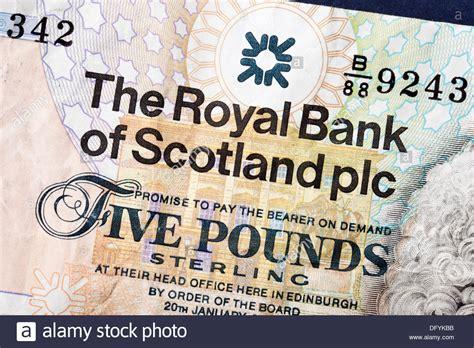 adresse bank of scotland bank scotland note stockfotos bank scotland note bilder