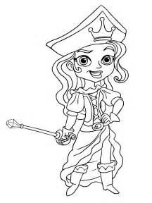 Dibujo de jake y los piratas de nunca jamas cubby para colorear