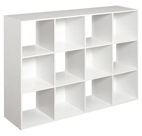 Closetmaid 12 Cube Organizer closetmaid 1290 cubeicals 12 cube organizer white 075381012904 toolfanatic