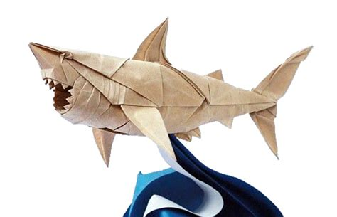 Origami Great White Shark - the and science origami at ê imiloa â