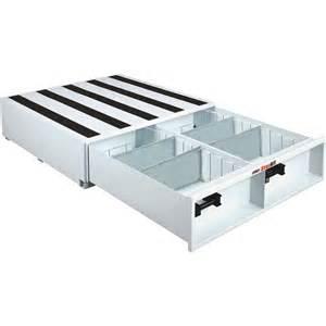 jobox storall 1 drawer truck tool box horizontal white