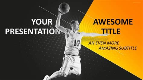 powerpoint themes basketball 30 sports mega powerpoint template