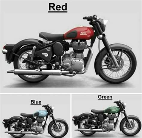 classic colours new royal enfield classic bullet colours for 2017