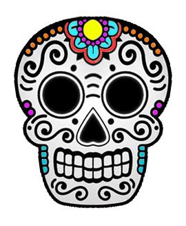 sugar skull design template birthday cake designs 183 social 183 chit chat 183 cut out keep