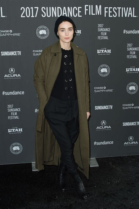 2017 film premieres rooney mara at ghost story premiere at 2017 sundance