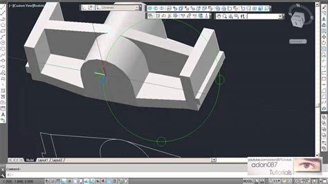 adan087 tutorials autocad 3d drawing 8