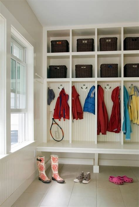mudroom lockers  clever   provide additional