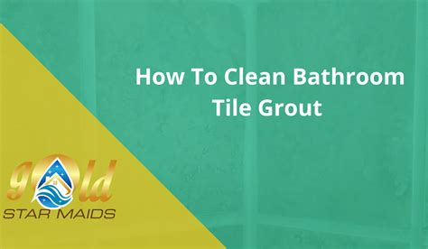 how to clean bathtub grout blog