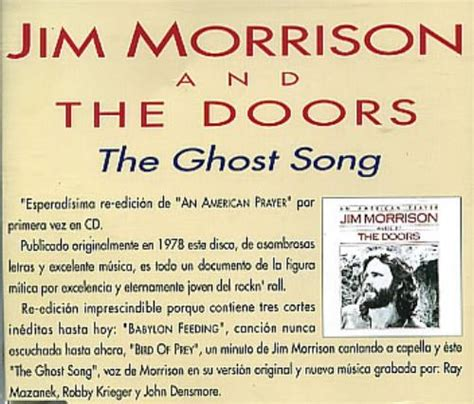 Kaos The Doors Ghost Song the doors the ghost song promo cd single cd5 5