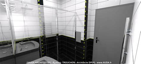 salle de bain blanche et grise 5141 salle de bain grise et blanche auda architectes photo n 176 45