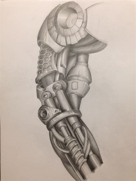 biomechanik tattoo unterarm tattoo arm cyborg mechanic biomechanic drawing my