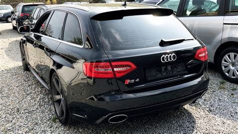 audi rs4 exhaust audi rs4 b8 v8 exhaust sound