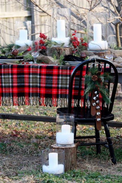 ideas for 35 cozy plaid d 233 cor ideas for christmas digsdigs