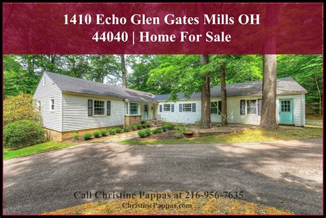 1410 echo glen gates mills oh 44040 home for sale