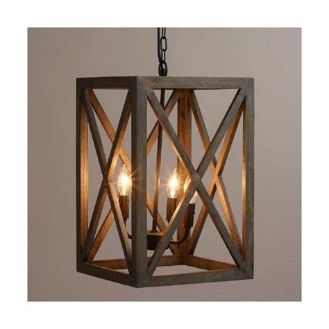 Black And Wood Chandelier by Cost Plus World Market Gray Wood And Iron Valencia