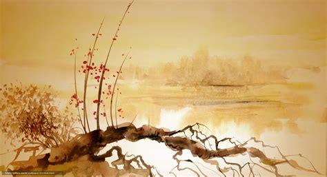 asian painting images desktop wallpaper wallpapersafari