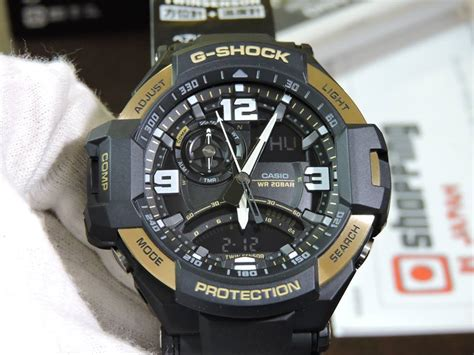 G Shock Redbull Series Black Gold ga 1000 9g g shock aviation black and gold live casio photos
