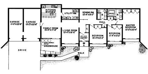 berm house floor plans glennon green berm home plan 038d 0136 house plans and more