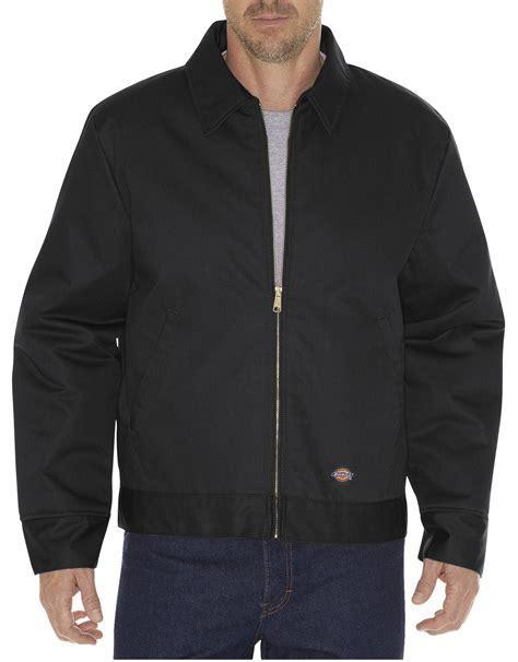 Jaket Bomber 2in1 Denim Cowok lined eisenhower jacket for dickies