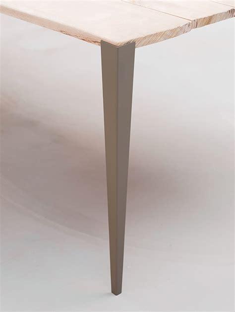 pieds de bureau design tol x fabricant de pieds de table et plateau en bois design