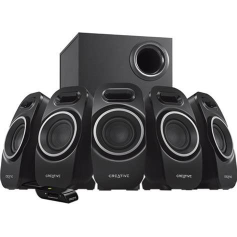 Creative Speaker 5 1 creative labs a550 5 1 speaker system black mf4120aa002 b h
