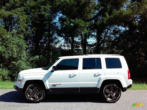 jeep patriot 2017 white 2017 bright white jeep patriot 75th anniversary edition
