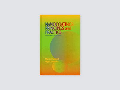 nanocoatings principles and practice from research to