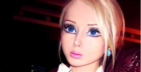 Plastik Rel living doll valeria lukyanova mixed race