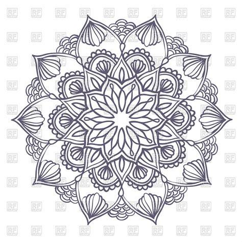 pattern mandala vector floral mandala clipart clipground