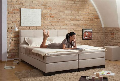 bett 240x200 boxspring matratze 140x200 box bed 160x200 cm pu