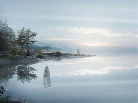 designboom photography erik johansson breaks the boundaries of reality with brain